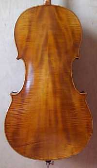 Wolff Bros cello back
