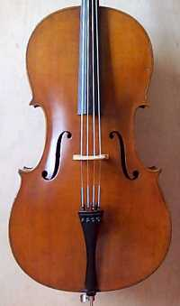 Wolff Bros cello front